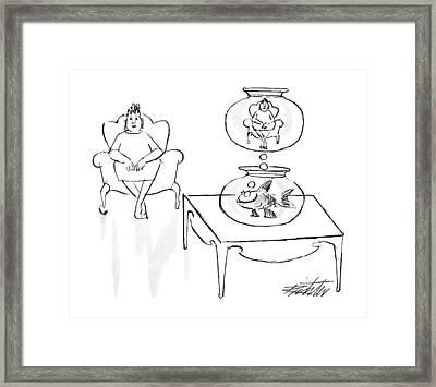 New Yorker June 18th, 1990 Framed Print