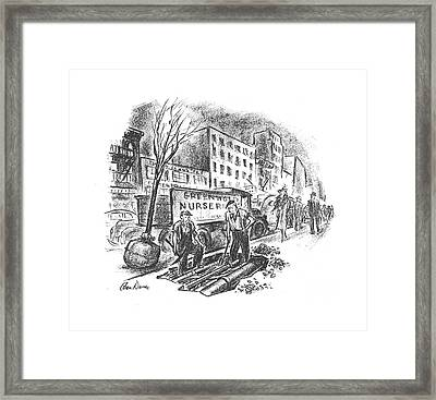 New Yorker June 1st, 1940 Framed Print