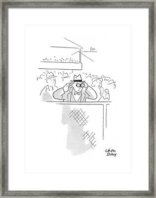 New Yorker June 20th, 1942 Framed Print by Chon Day