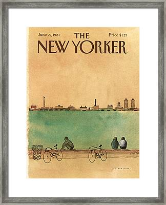 New Yorker June 22nd, 1981 Framed Print by Abel Quezada