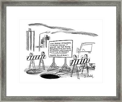 New Yorker June 22nd, 1987 Framed Print by Donald Reilly