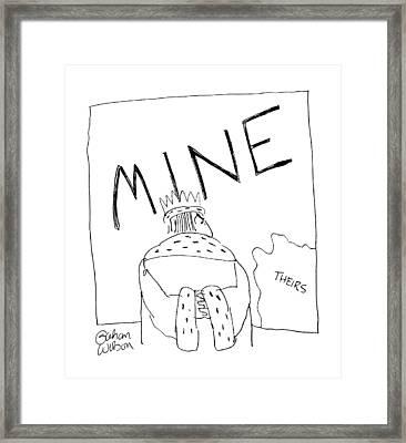 New Yorker June 22nd, 1987 Framed Print