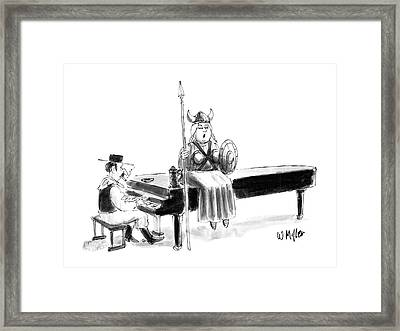 New Yorker June 22nd, 1987 Framed Print by Warren Miller