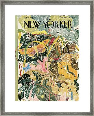New Yorker June 23rd, 1945 Framed Print