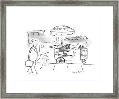 New Yorker June 23rd, 1997 Framed Print by Arnie Levin