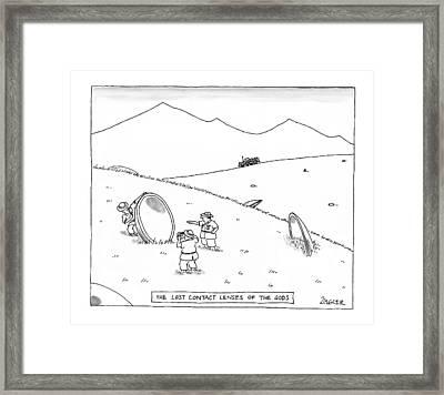 New Yorker June 23rd, 1997 Framed Print by Jack Ziegler