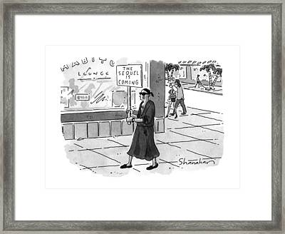 New Yorker June 24th, 1996 Framed Print by Danny Shanahan