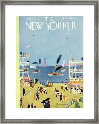New Yorker June 25 1932 Framed Print