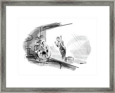 New Yorker June 26th, 1948 Framed Print by Leonard Dove