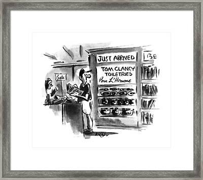 New Yorker June 26th, 1995 Framed Print