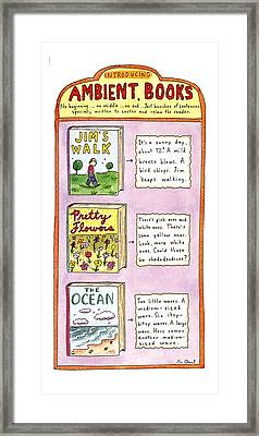 New Yorker June 26th, 1995 Framed Print by Roz Chast