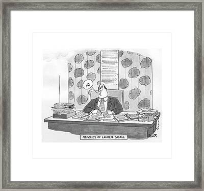New Yorker June 27th, 1977 Framed Print