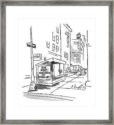 New Yorker June 27th, 1988 Framed Print