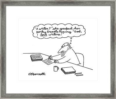 New Yorker June 27th, 1994 Framed Print