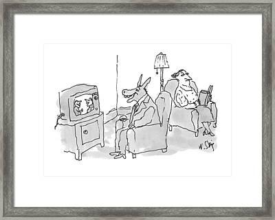 New Yorker June 28th, 1993 Framed Print