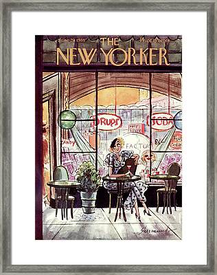 New Yorker June 29th, 1935 Framed Print