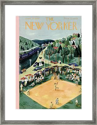 New Yorker June 29th, 1946 Framed Print