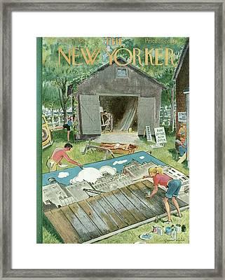 New Yorker June 2nd, 1951 Framed Print