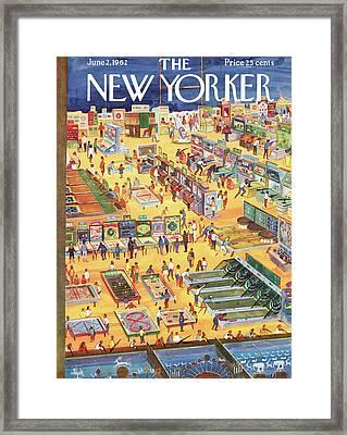 New Yorker June 2nd, 1962 Framed Print