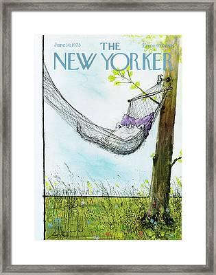 New Yorker June 30th, 1975 Framed Print