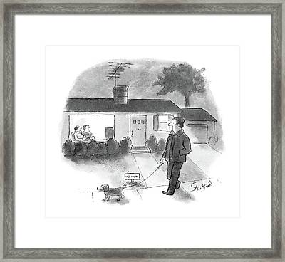 New Yorker June 30th, 1986 Framed Print by Stan Hunt