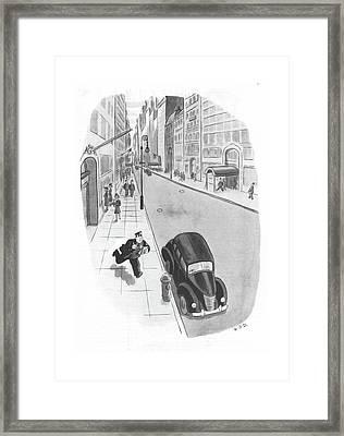 New Yorker June 3rd, 1944 Framed Print