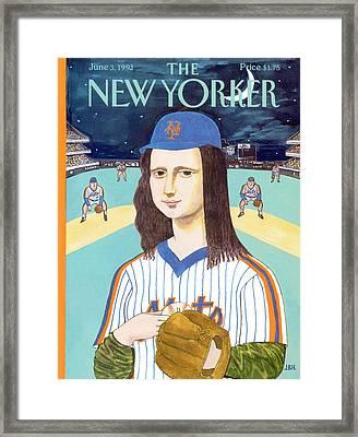 New Yorker June 3rd, 1991 Framed Print by J.B. Handelsman