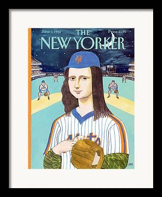 Catcher. New York Framed Prints