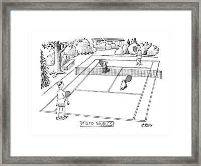 New Yorker June 3rd, 1991 Framed Print by Peter Steiner