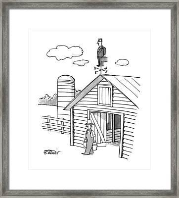 New Yorker June 4th, 1990 Framed Print by Peter Steiner