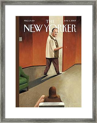 New Yorker June 4th, 2007 Framed Print by Mark Ulriksen