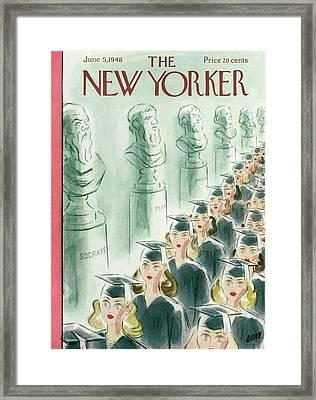 New Yorker June 5th, 1948 Framed Print