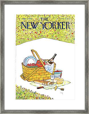 New Yorker June 5th, 1978 Framed Print by Arthur Getz