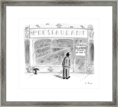 New Yorker June 5th, 1995 Framed Print by Roz Chast