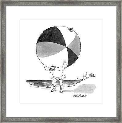 New Yorker June 6th, 1988 Framed Print by Mischa Richter