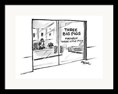 Office Suites Framed Prints