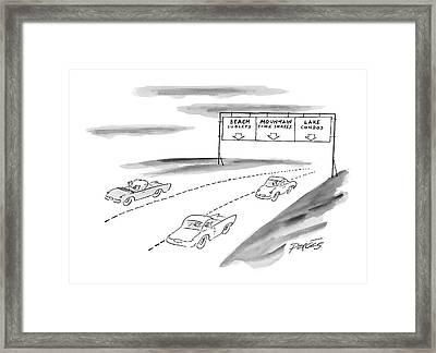 New Yorker June 7th, 1999 Framed Print
