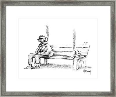 New Yorker June 8th, 1987 Framed Print by Anthony Taber