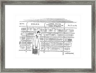 New Yorker June 8th, 1998 Framed Print by Mick Stevens