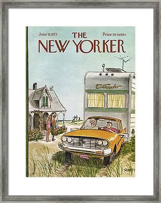 New Yorker June 9th, 1973 Framed Print