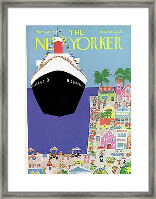 New Yorker March 14th, 1970 Framed Print