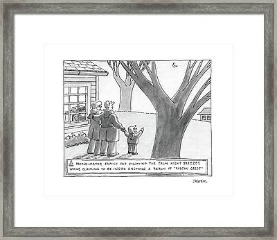 New Yorker March 14th, 1988 Framed Print
