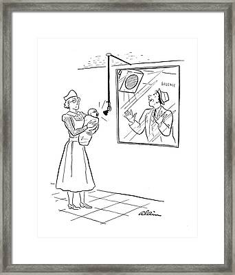 New Yorker March 15th, 1941 Framed Print by  Alain