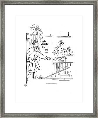 New Yorker March 15th, 1941 Framed Print by Garrett Price