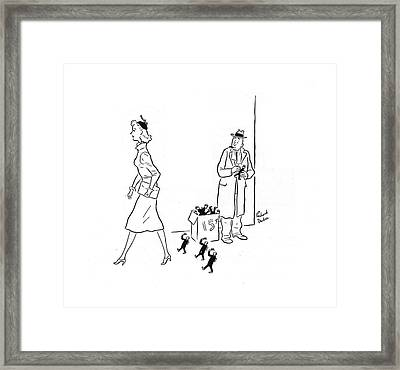 New Yorker March 15th, 1941 Framed Print by Richard Decker