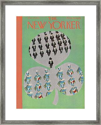 New Yorker March 15th, 1952 Framed Print