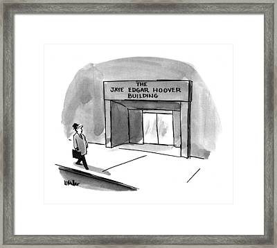 New Yorker March 15th, 1993 Framed Print