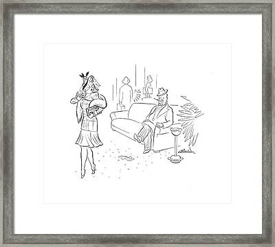 New Yorker March 16th, 1940 Framed Print by  Alain