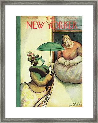 New Yorker March 18th, 1933 Framed Print