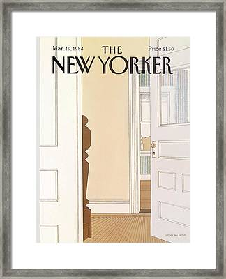 New Yorker March 19th, 1984 Framed Print by Gretchen Dow Simpson